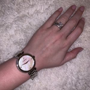 38 MM Womens Swiss 'Mother of Pearl' Versace Watch